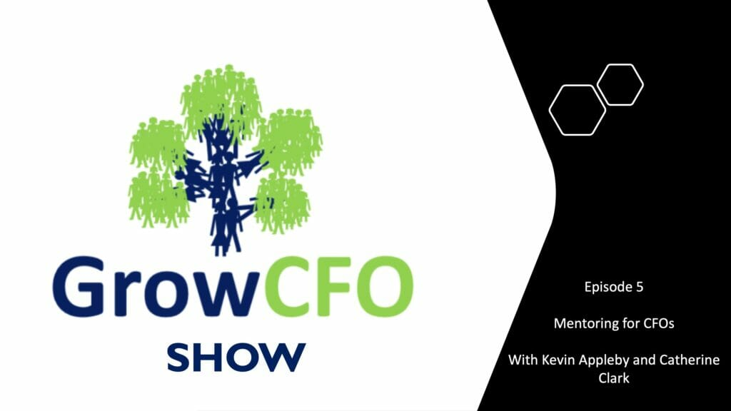 Mentoring for CFOs with Catherine Clark on the GrowCFO Show