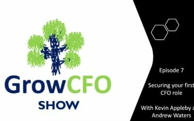 #7 Securing Your First CFO Role with Andrew Waters