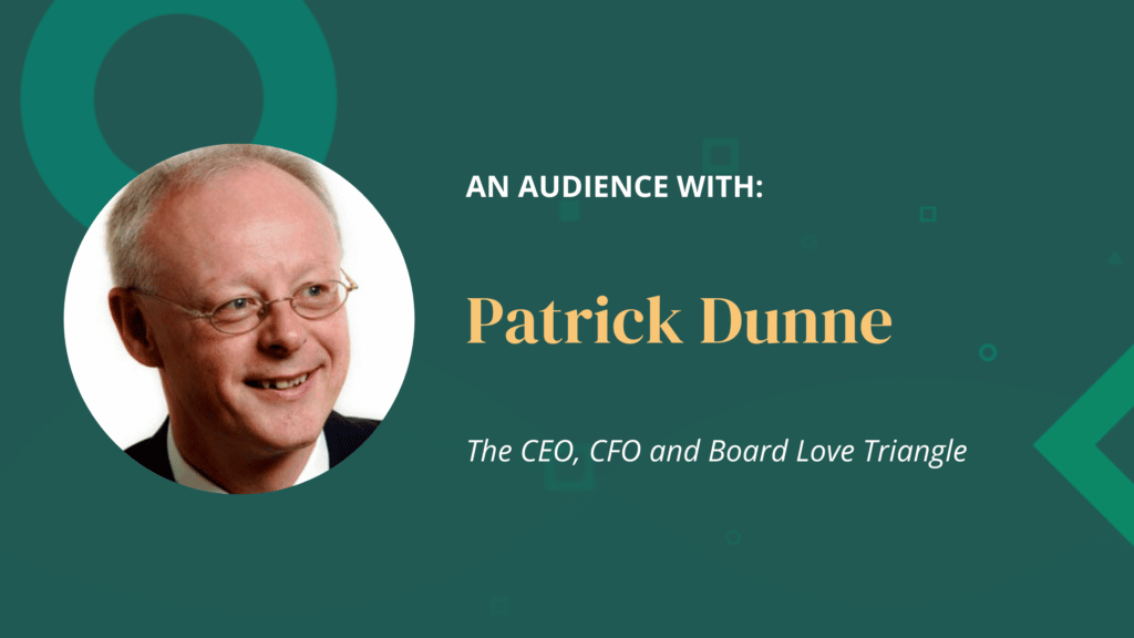 An Audience With Patrick Dunne