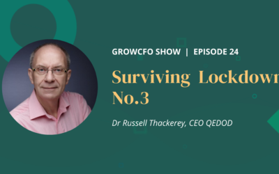 #24 Surviving Lockdown 3 with Russell Thackeray