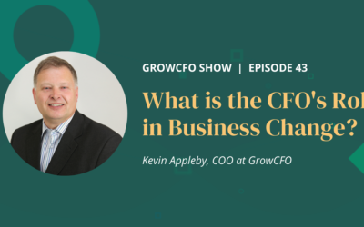 #43 What is the CFO's role in Business Change?