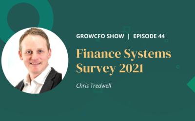 #44 Finance systems survey 2021 with Chris Tredwell
