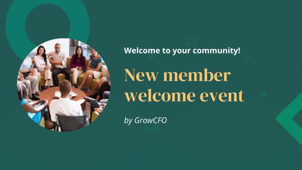 GrowCFO Welcome Event!